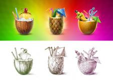 Коктейльные символы