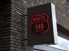 """Логотип """"ROUTE 148"""""""
