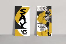 Дизайн листовок в минималистичном стиле