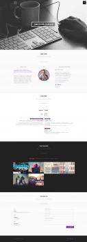 Landing Page портфолио