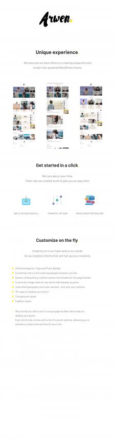 Lya - Premium WordPress Theme