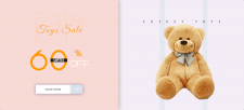 E-commerce Toys Banner