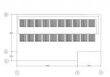 Схема розміщення сонячних колекторів на покрівлі