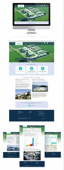 Сайт визитка компании Sels