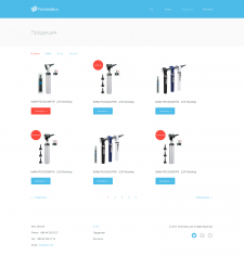 FortMedica страница Products