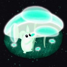 Призрачный гриб