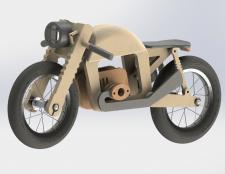 Детский мотоцикл из фанеры