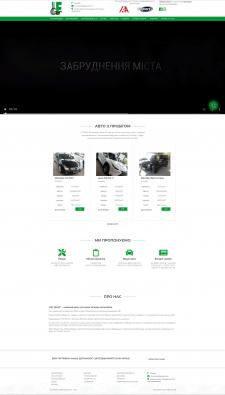Адаптивный CMS WordPress автосалона