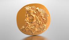 Древняя монета Боспорского царства