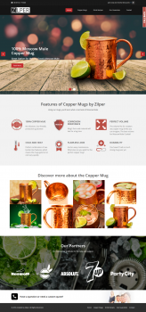 zilper.com - Moscow Mule Copper Mug