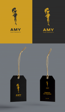 AMY. Logo | Label
