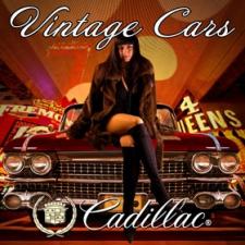 Конкурс витажных автомобилей Лас Вегас - стенд Cadillac Cars