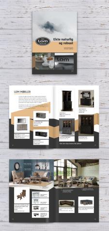 Разработка каталога мебели