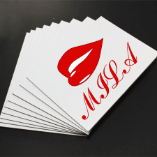 Лого для губной помады