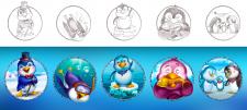 Пингвиньи символы 3