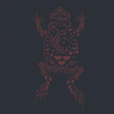 Лягушка из геометрических элементов