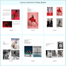 Пресс-бук для обуви люкс-класса ТМ Ganor Dominic