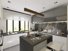 3D Visualization Kitchen