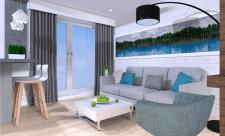 Дизайн квартиры Вроцлав.