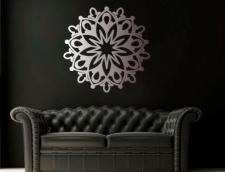 мандала для декора интерьера, лазерная резка
