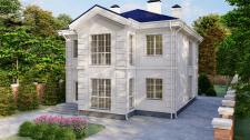 Проект дома в классическом стиле в г. Полтава