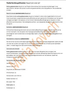 Текст онлайн гемблинг слоты на голландском нидерл