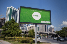 Реклама сайта на билборде