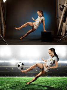 Рекламна фотографія та постобробка/фотомонтаж