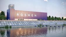 3D Візуалізація набережної ROSHEN у Вінниці