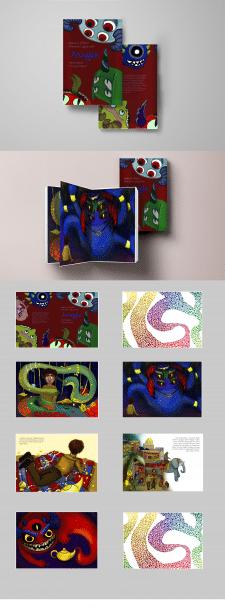 Дизайн-иллюстрирование детской книжки