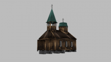 "3D моделинг часовни ""Fort Ross"""