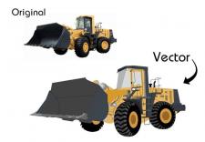 Отрисовка в векторе