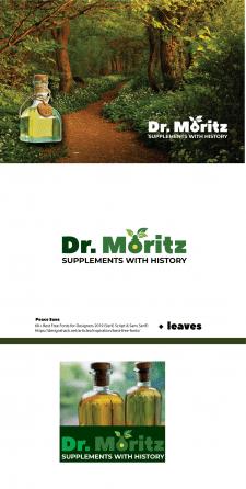 Логотип  Dr. Moritz биодобавоки  США (supplements)