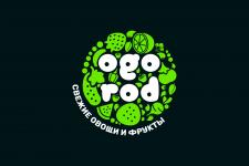 """Логотип для магазина """"ogorod"""""""