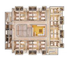 план общежития