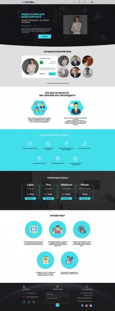 Адаптивная верстка Видео-отзывы для Вашего бизнеса