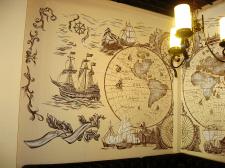 Роспись стен. 4