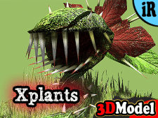 3D Model - X-Plants vol 1: Cornevorous