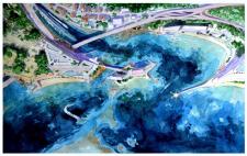 генплан залива и прибрежной зоны