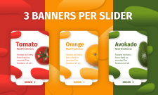 3 BANNERS PER SLIDER