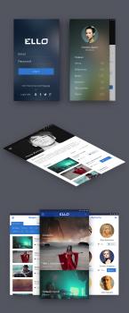 Приложение Ello для Android