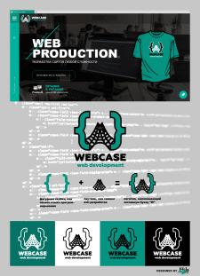 Логотип для IT компании WEBCASE