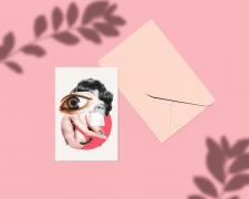 Коллажи для открыток