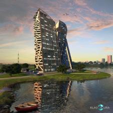 Проект жилищного комплекса в г. Киеве