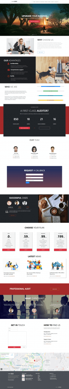 Template HTML/CSS