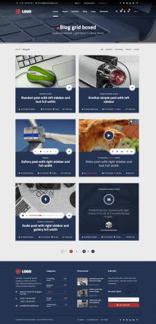 Прототип для страницы блога