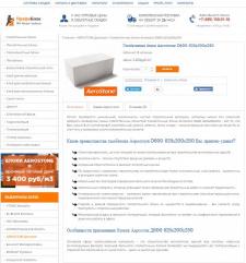 Карточки товара с размещением ПрофиБлок (Opencart)