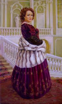 Парадный портрет со сменой декорации и антуража