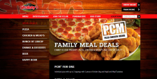 Landing Page, Pizza Market, Personality in design