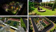 Ландшафтний дизайн двора в новобудові (м. Луцьк)